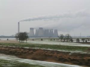 エッグバラの火力発電所