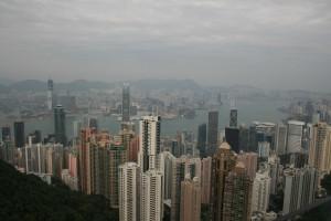 香港島と九龍半島