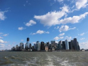 Lower Manhattan(海から)