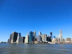 Lower Manhattan(Brooklynから)