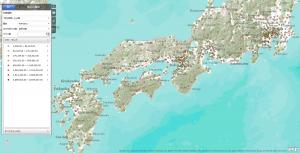 ArcGIS Explorer Onlineで作った地図